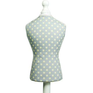Fabric Covered Mini Mannequin Necklace Display