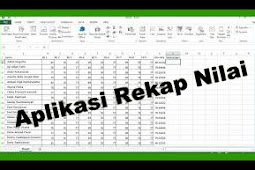 Download Aplikasi Rekap Nilai 2018/2019