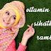 4 Vitamin Untuk Suburkan Rambut Lebat