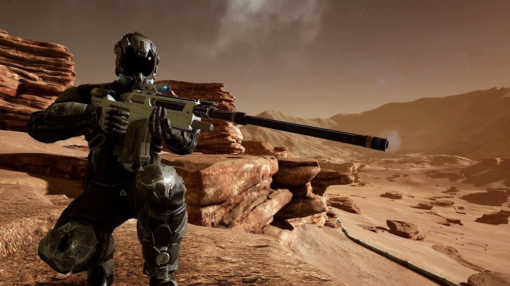 Memories of Mars game image - sniper