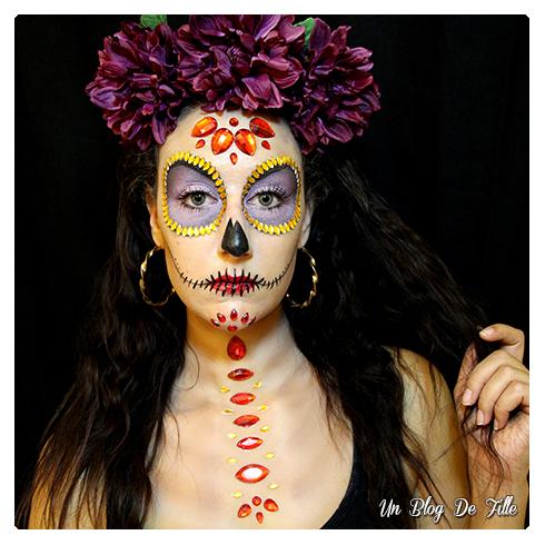 http://unblogdefille.blogspot.fr/2017/10/maquillage-halloween-calavera-avec-des.html