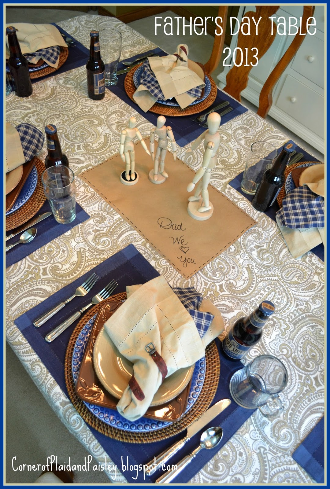 fathers day table - HD1079×1600