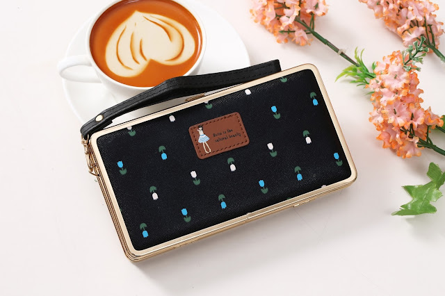 Jims Honey Darly Wallet Black