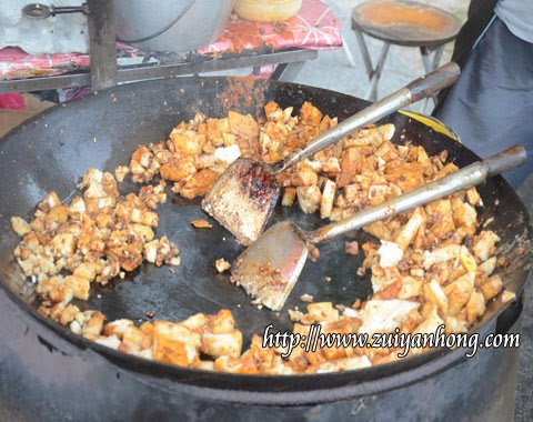 Stir-fried Radish Cake