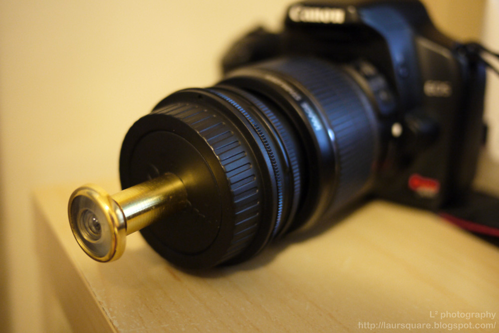 L² photography: DIY DSLR Fish-eye Lens
