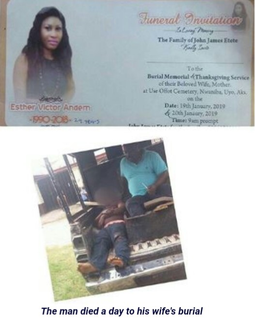 Nigerian Man Dies In Accident, A Day To His Wife's Burial