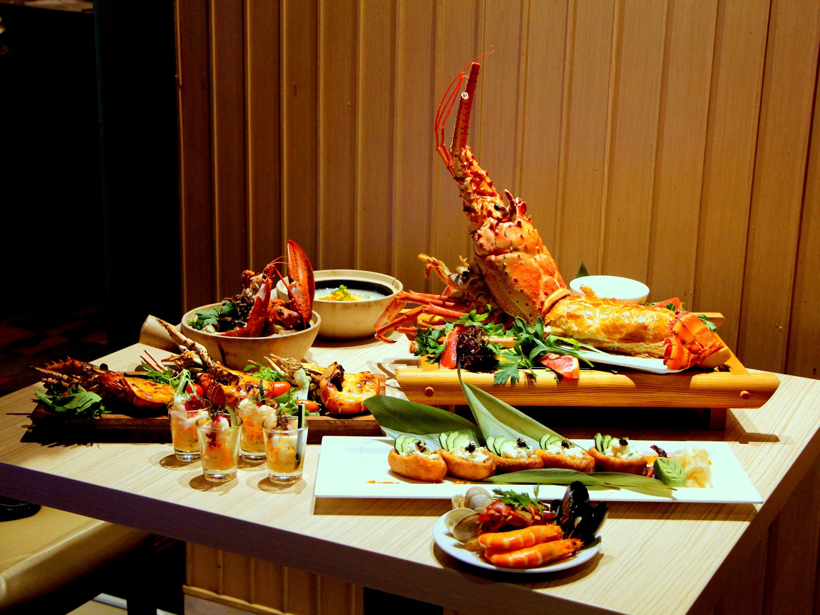 Battle of the Crab buffet Parkroyal Kitchener