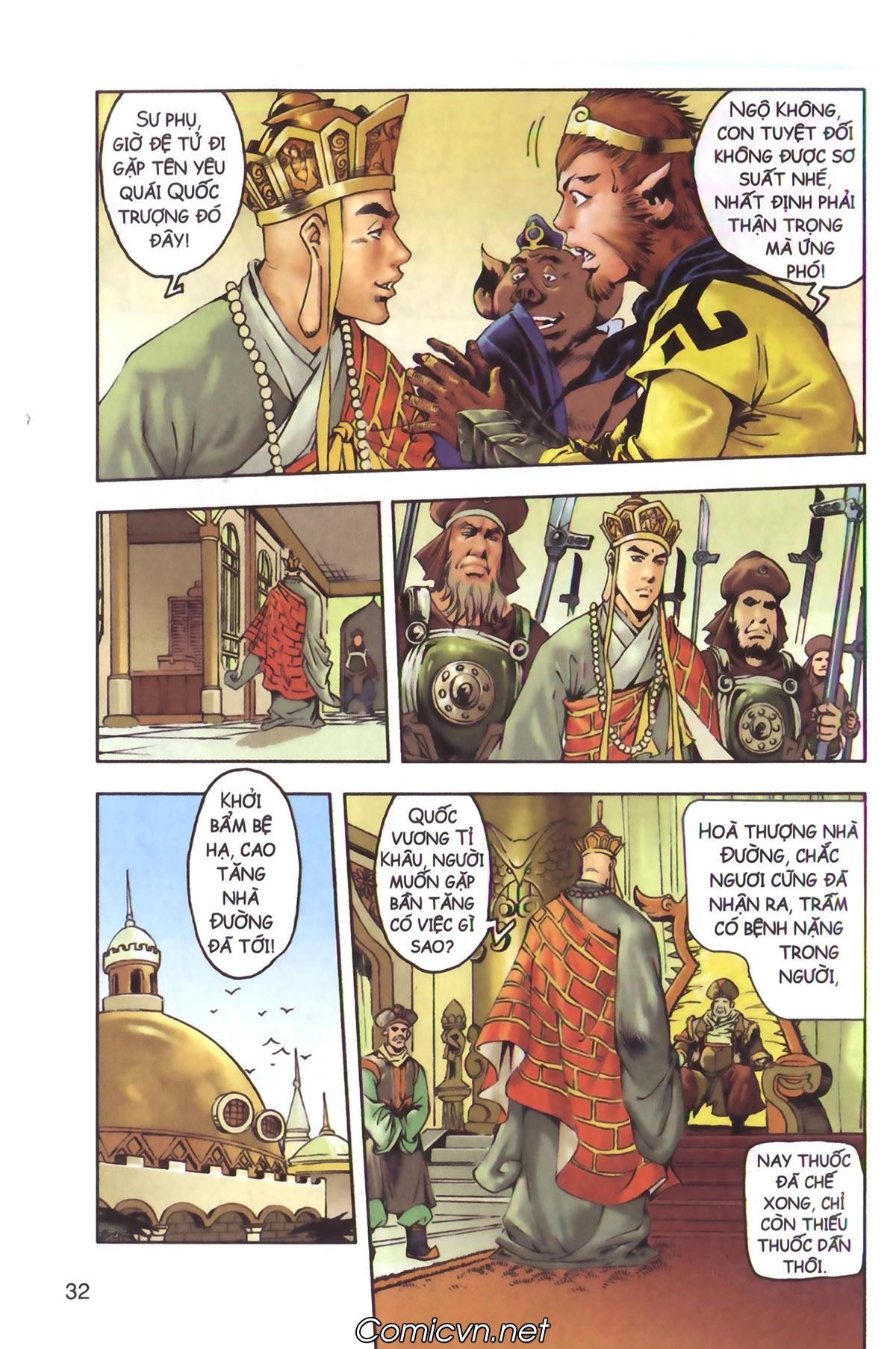 Tây Du Ký màu - Chapter 130 - Pic 12