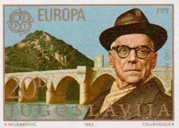 Иво Андрић, поштанска маркица из 1983. године