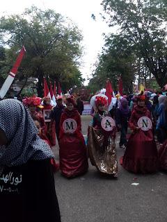 Kegiatan Karnaval Memperingati HUT RI  Ke 71 Kabupaten Pamekasan, Kegiatan Agustusan 2016