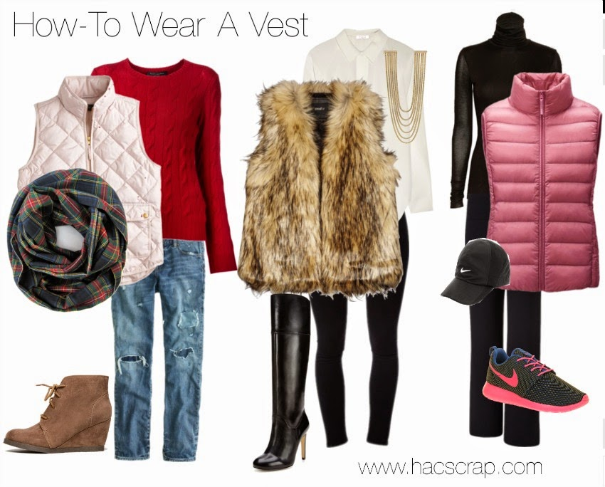 Styling Ideas for Vests | MidLife Mom Style Ideas