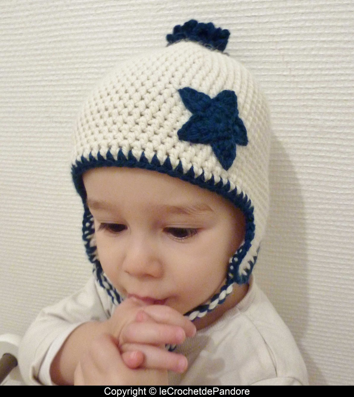 Extraordinaire le Crochet de Pandore: Bonnet petit garçon XT-73
