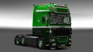 Ingeborg Skin for DAF XF 105 by Stanley