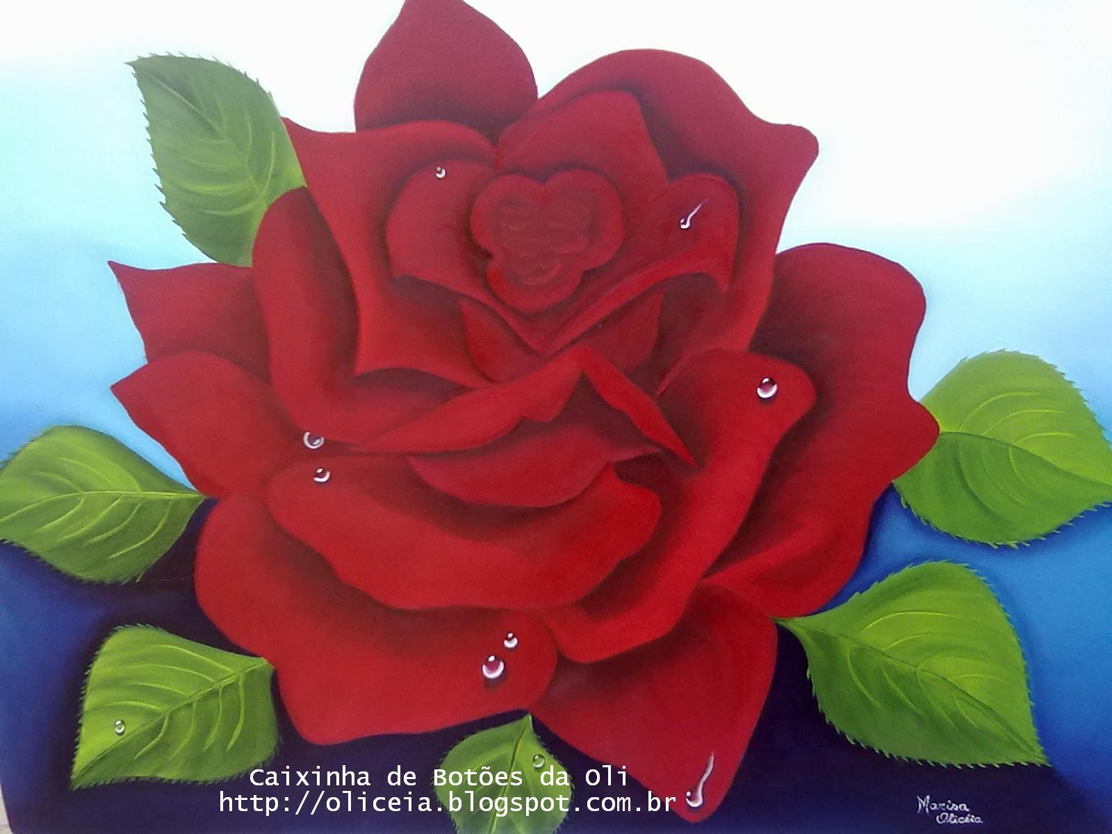 Imagenes De Rosas Para Pintar En Tela