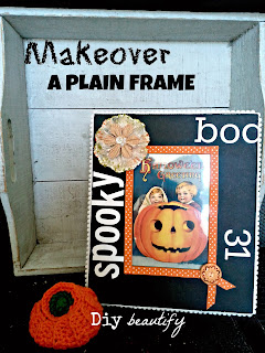 Easy Vintage Halloween decor