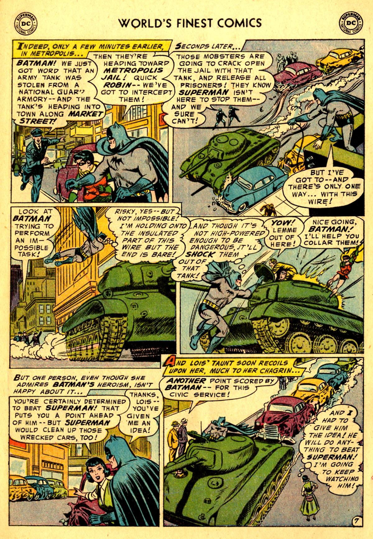 Read online World's Finest Comics comic -  Issue #76 - 9