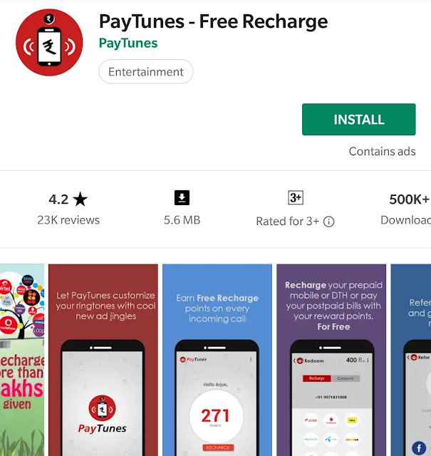PayTunes App