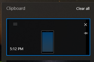 Clipboard Latest October Update Windows
