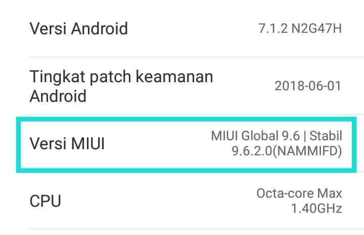 Cara Cek ROM Xiaomi Asli Atau Distributor