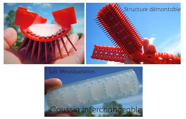 Structure et coussin interchangeable de la brosse Dragon Air Styler de YS Park - Les Mousquetettes©