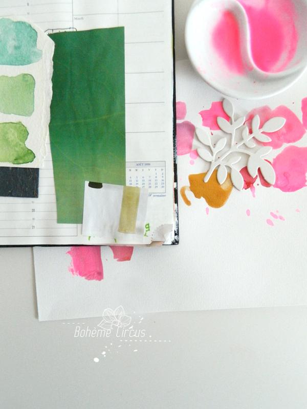 boheme circus - créativité - aquarelle - watercolors