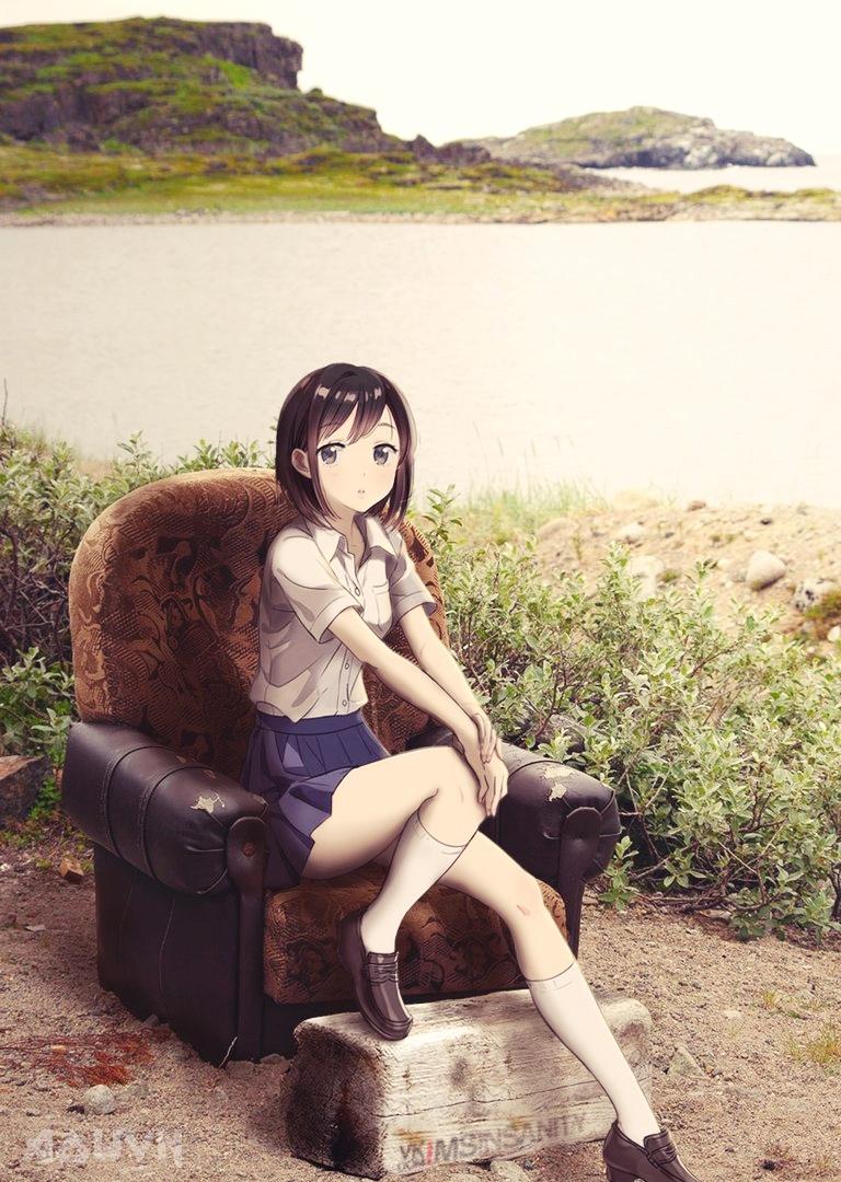023 AowVN.org m - [ Hình Nền Anime ] cực ảo diệu từ MS INSANITY | Wallpaper