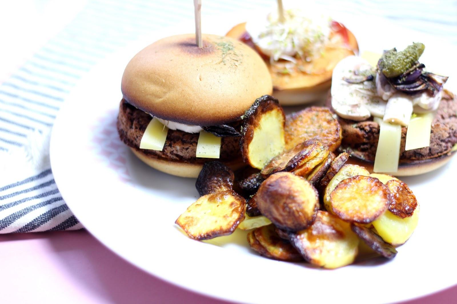 Burger sans gluten végétarien