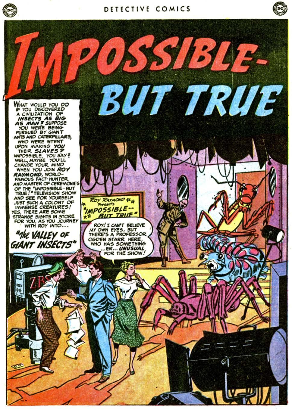 Read online Detective Comics (1937) comic -  Issue #162 - 17