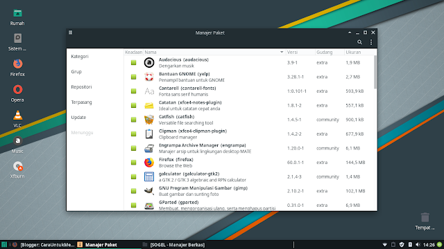 Manjaro Linux Package Manager
