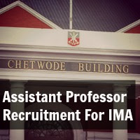 Assistant Professor Recruitment For Indian Military Academy