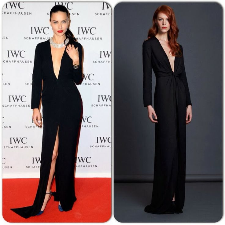 IWC 'Inside The Wave' Gala Event - Adriana Lima in Jenni Kayne