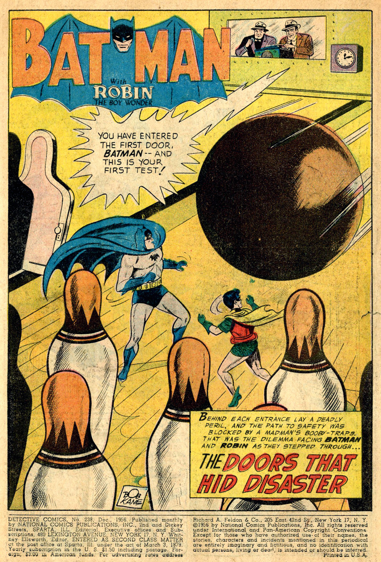 Detective Comics (1937) 238 Page 2
