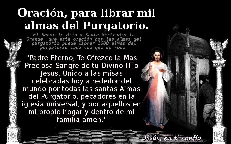 animas benditas del purgatorio