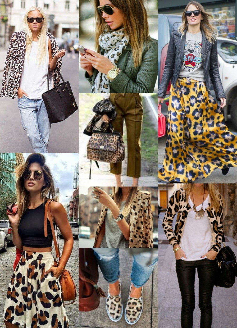 How to Wear Leopard print - street style inspiration