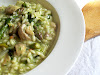 Asparagus and Pesto Risotto with Mushrooms