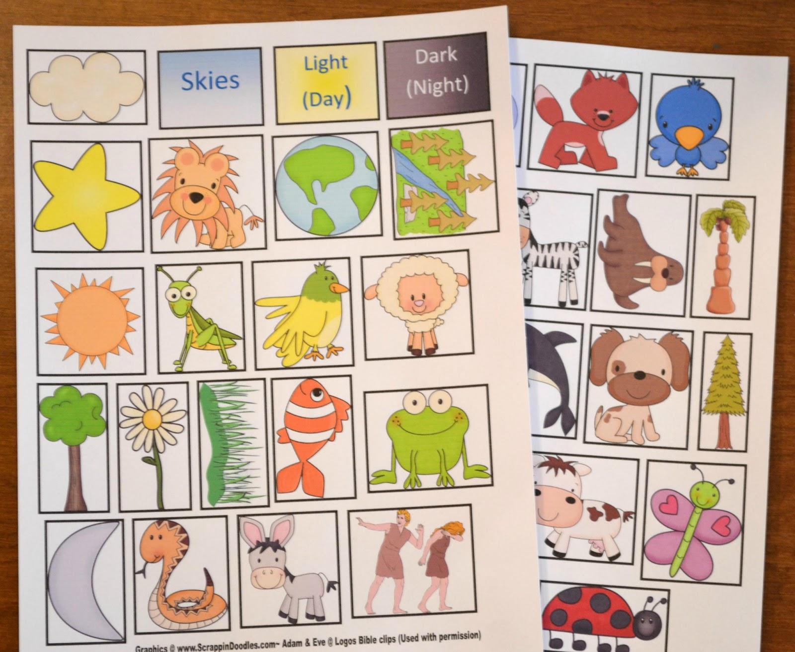Bible Fun For Kids Genesis Series Creation