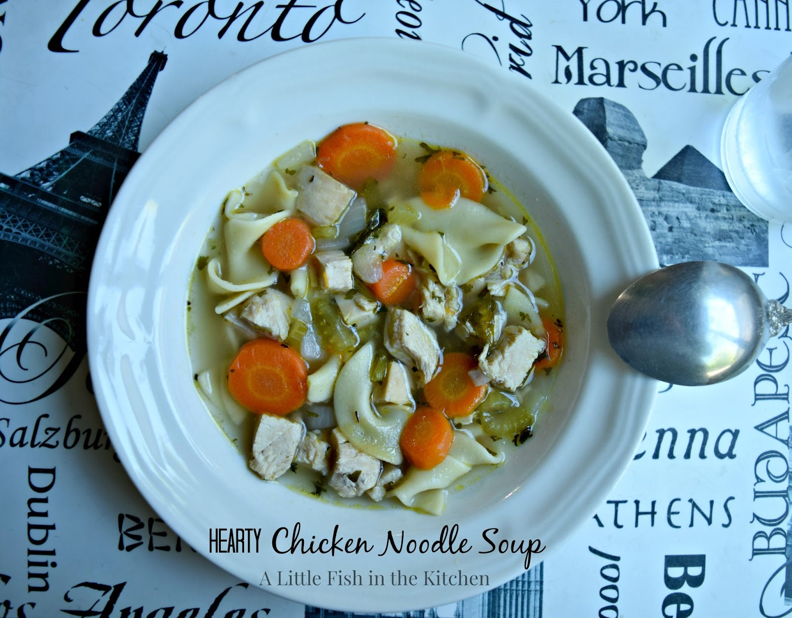 Hearty Chicken Noodle Soup – Recipesbnb