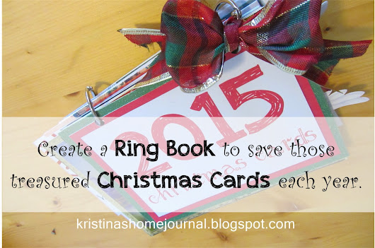 Saving Christmas Cards