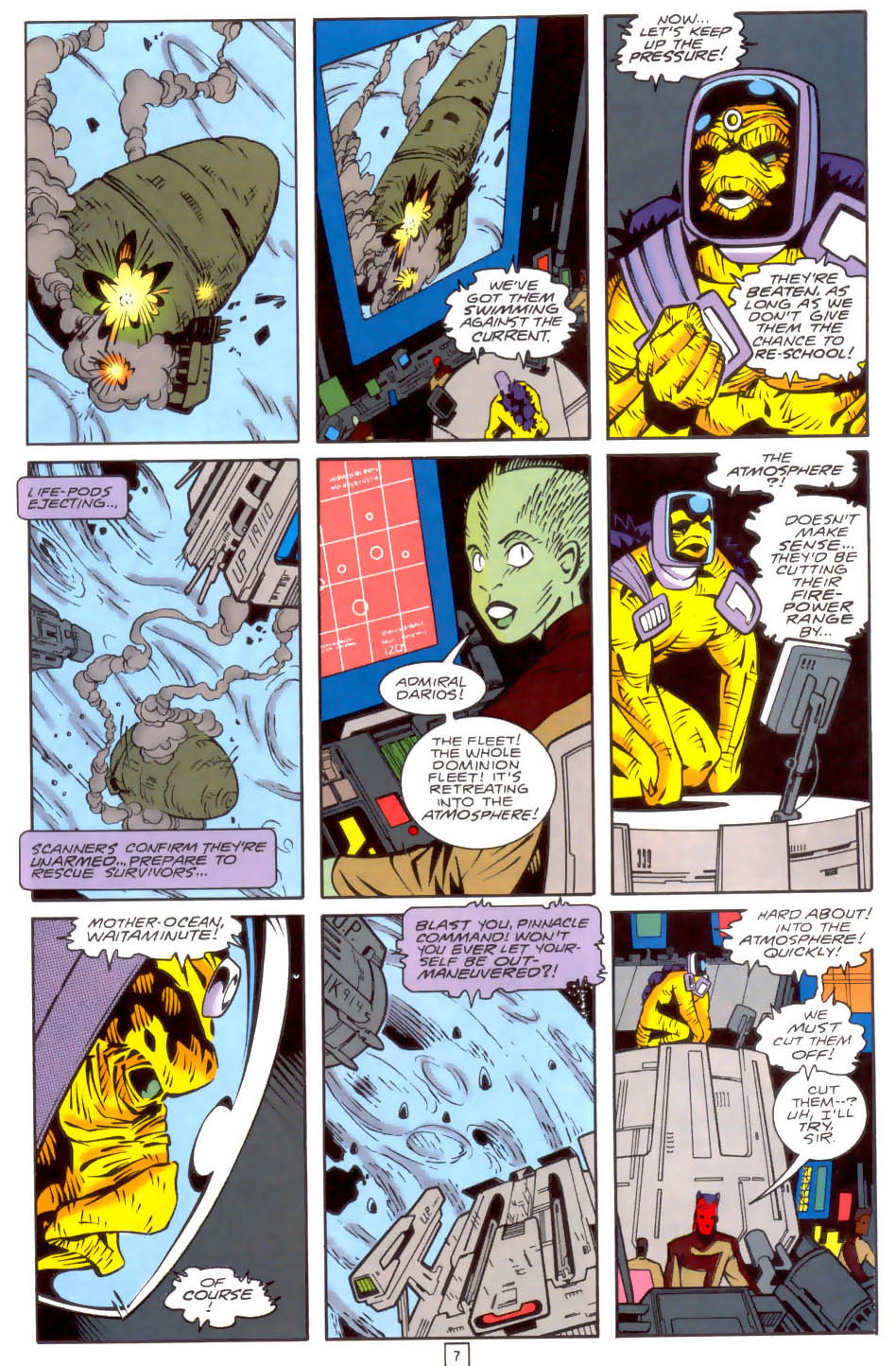 Legion of Super-Heroes (1989) 34 Page 7