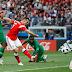 هزيمة ثقيلة للمنتخب السعودي امام روسيا في لقاء افتتاح كاس العالم