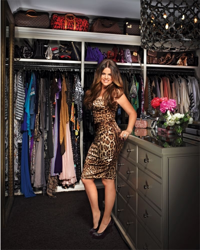 Khloe Kardashian I See The Louis Vuitton Collection Aint Mad At You MORE WALK IN CLOSETS
