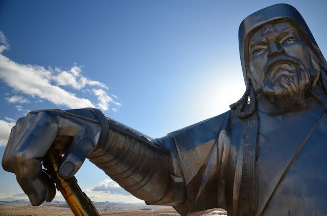 Tsonjin Boldog, Chinggis Khan Statue, Tuv Aimag