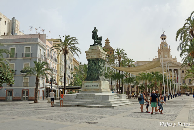 plaza de San Juan de Dios de Cádiz
