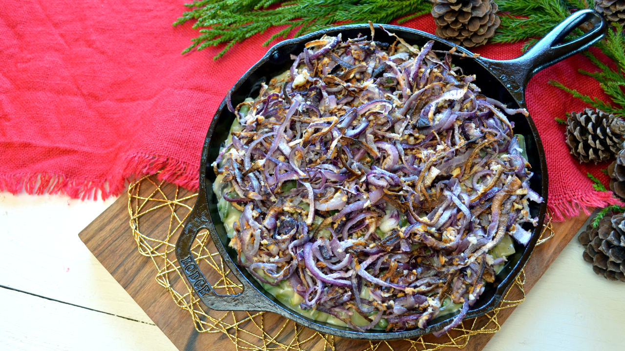 Green beans & Fried onions casserole