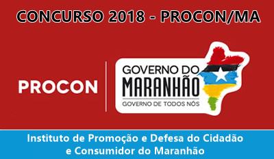 concurso Procon Maranhão edital 2018