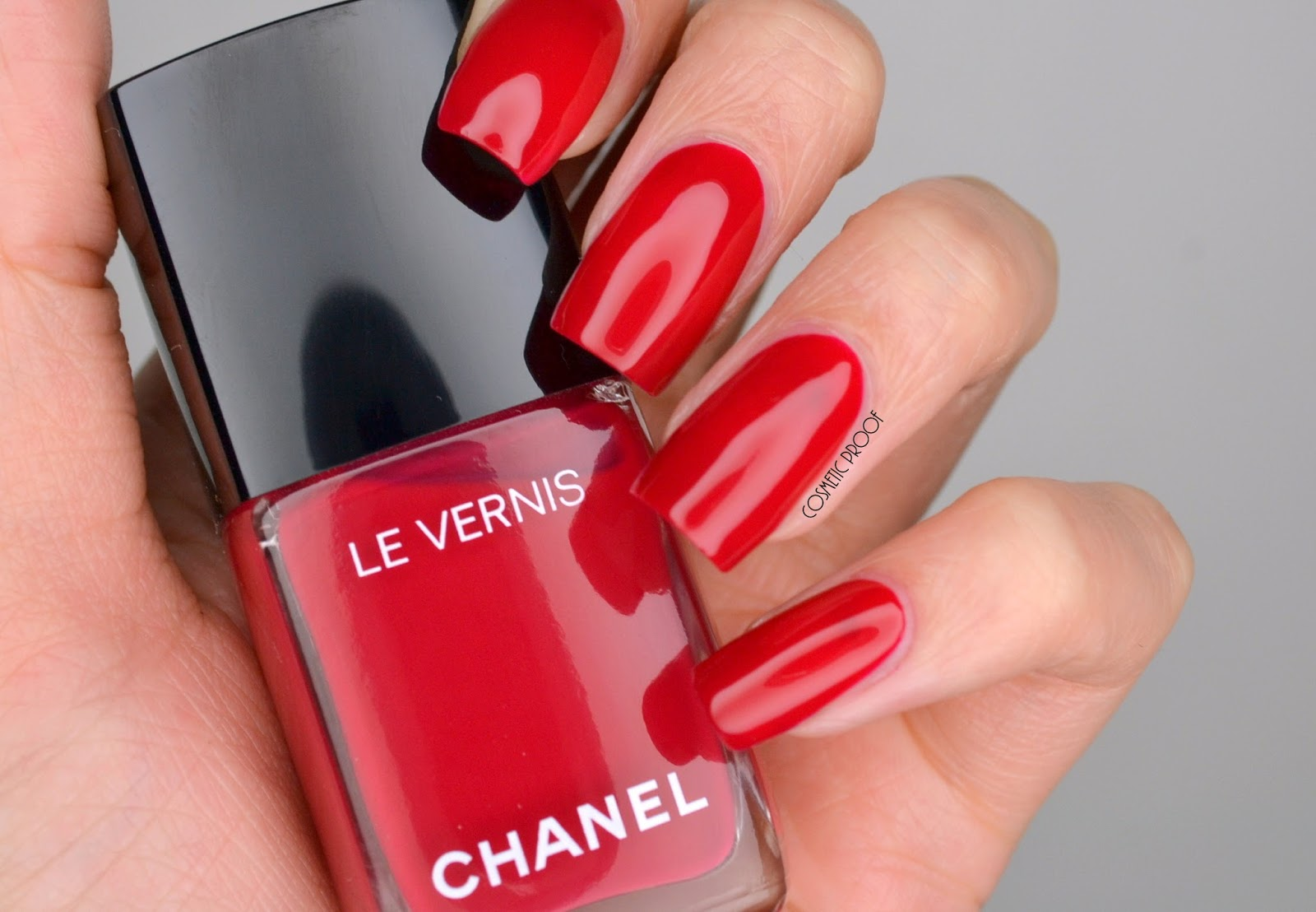 NAILS | *New* Longwear Nail Colour Chanel #508 Shantung Swatch ...