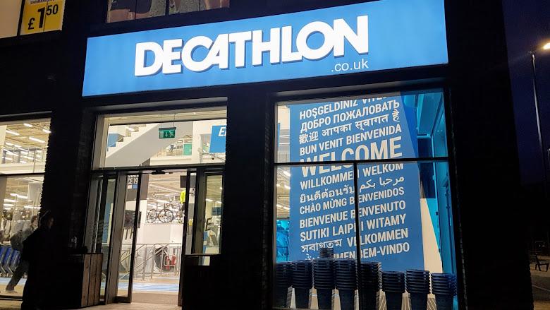 Decathlon,英國最大的運動用品購物商場