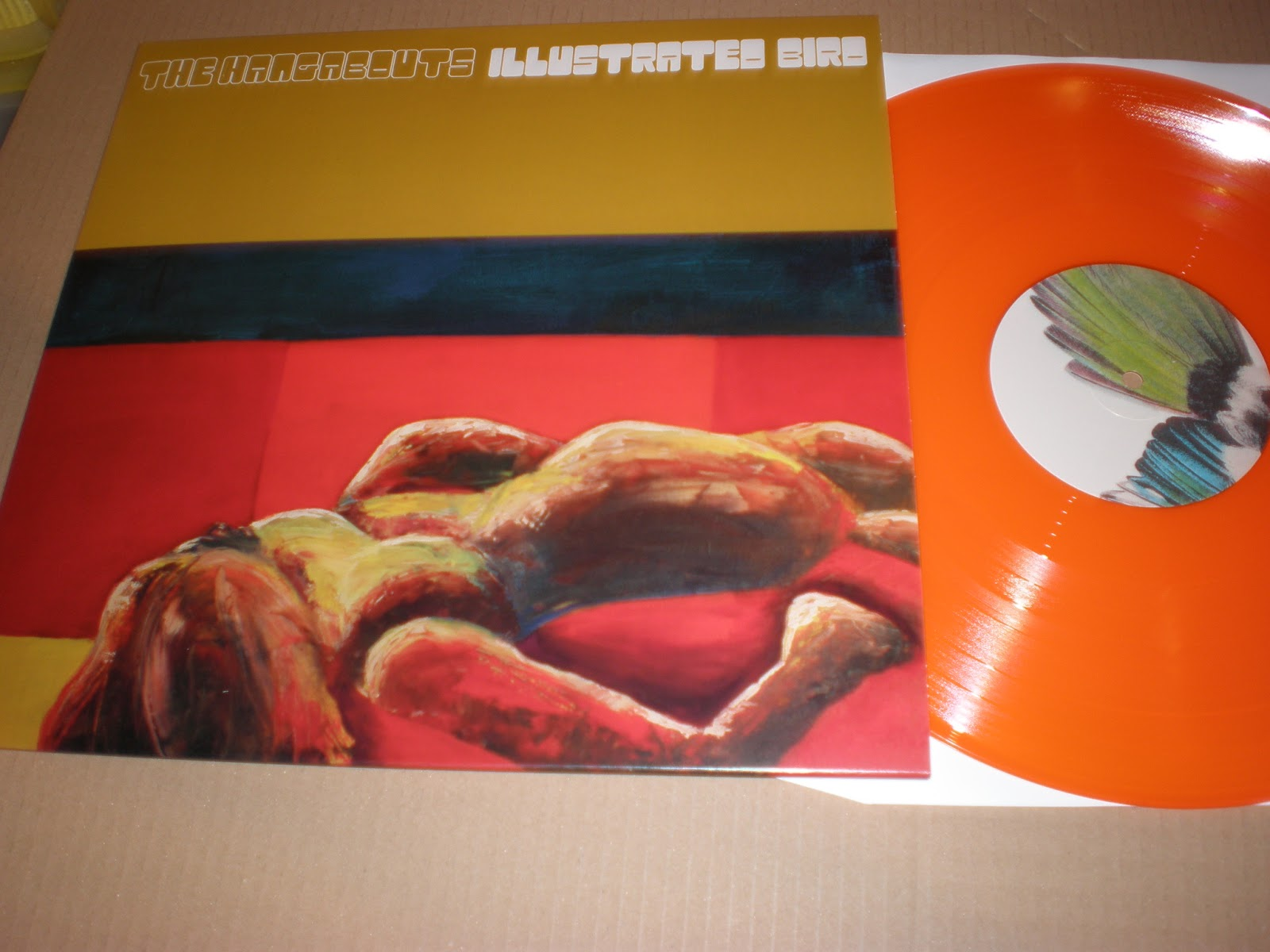 Orange pop records s profile hear the world s sounds - The Hangabouts Illustrated Bird Sugarbush Sb031 The Fabulous New Album On Vinyl By Detroit S Hangabouts Is One Of Those Albums That Any Label With A
