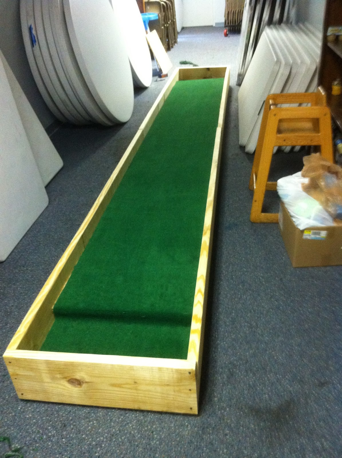 Youth Story: Carpet Ball Table