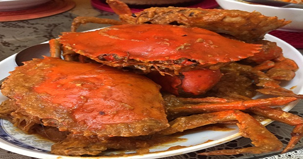 Singapore-Style Chili Crabs Recipe